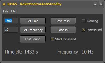 Deactivate ROKIT KRK Auto Standby - RMAS v1.0.2.0